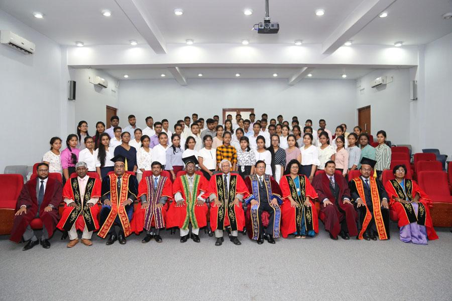 Inauguration Ceremony – Academic Year 2017/2018